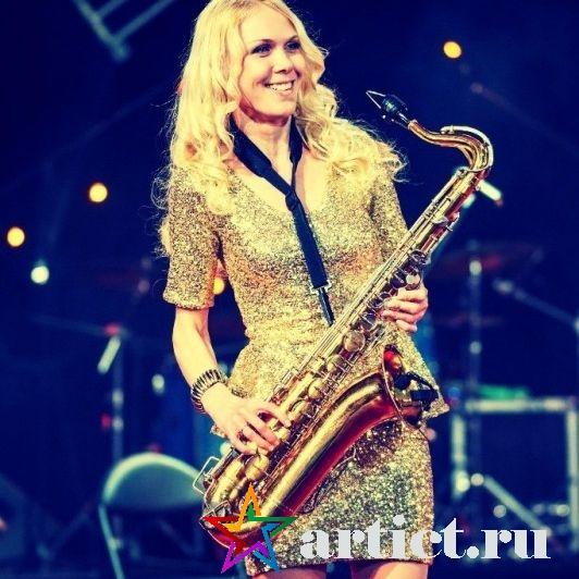 Саксофонистка Julia Sax в Москве Березина Юлия
