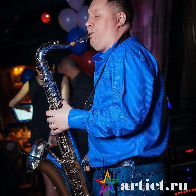 СаксофонистВячеслав Клюев