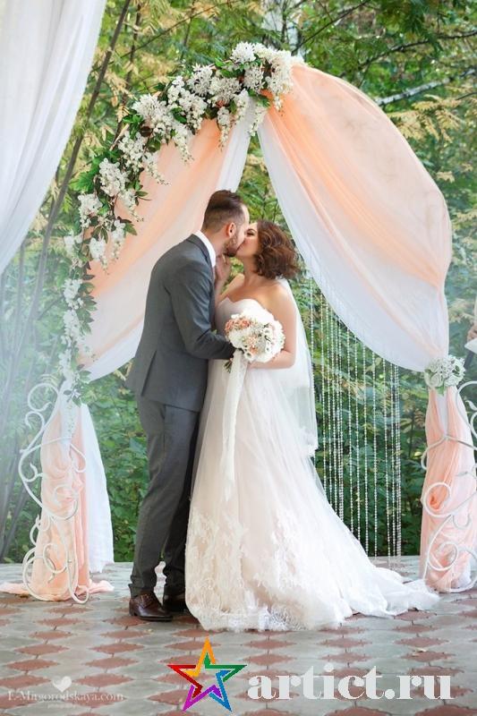 Выездная регистрация перед свадьбой.